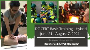 Sign up for DC Community Emergency Response Training
